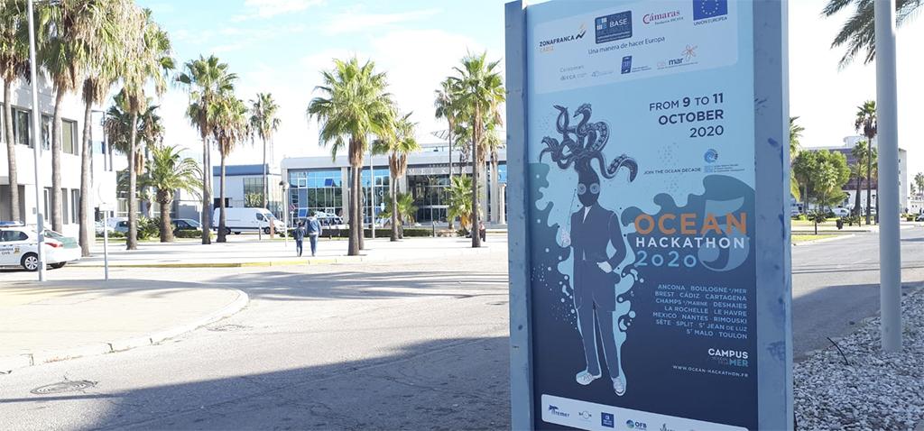 Ocean Hackathon arranca mañana en Cádiz con 57 inscritos, la cifra más alta de todas las sedes internacionales