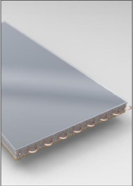 Patentan un novedoso captador de energía solar totalmente integrado en la fachada de los edificios