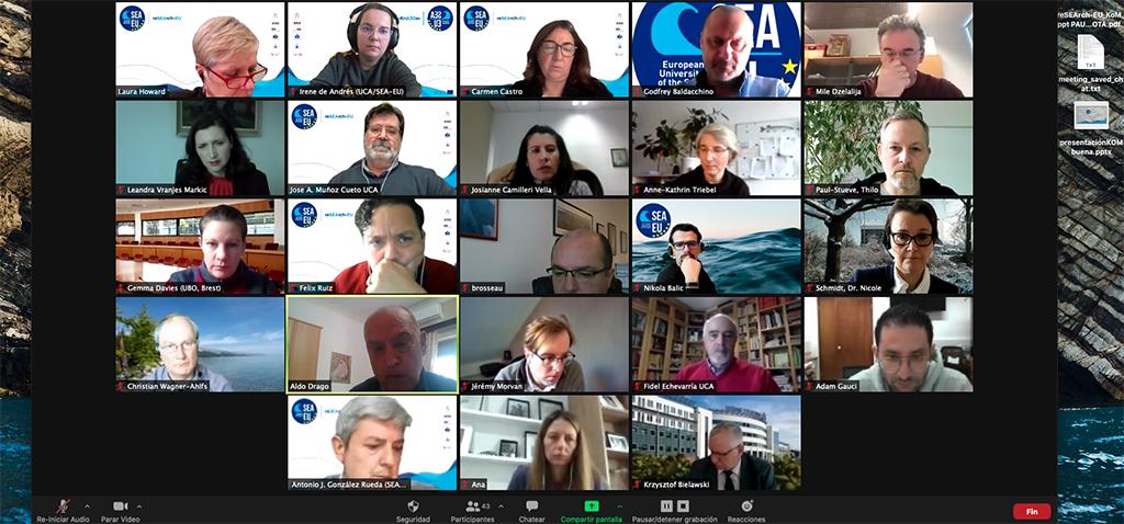 Arranca el proyecto h2020 'reSEArch-EU', que coordina la UCA junto a cinco universidades europeas